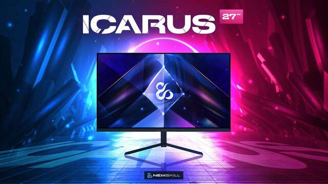 Newskill anuncia su monitor para jugar Icarus 27 con 1440p y 165Hz