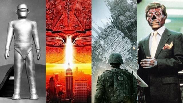 Las 12 mejores películas de invasiones extraterrestres de la historia
