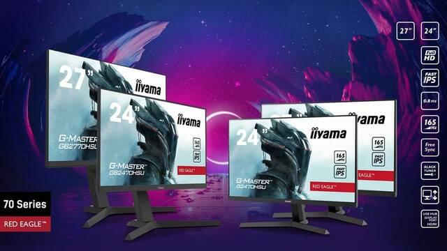 iiyama presenta sus nuevos monitores de 165Hz: G-Master GB2770HSU-B1 y GB2470HSU