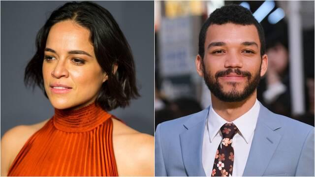 Michelle Rodriguez y Justice Smith estarán en Dragones y Mazmorras
