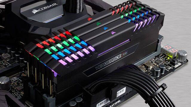 Corsair presenta sus memorias Vengeance RGB DDR4 dispuestas a iluminar tu PC