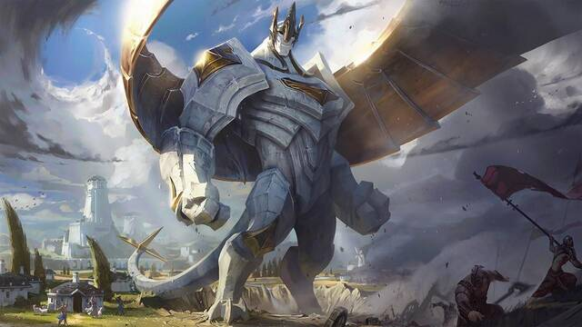 League of Legends da la bienvenida a Galio y a algunos cambios con la versión 7.6 del juego