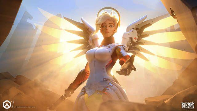 Mercy y Ana son los personajes principales más jugados en la cuarta temporada de Overwatch