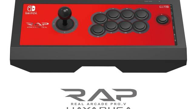Hori lanzará una versión de su arcade stick RAP Hayabusa para Nintendo Switch