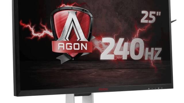 Llega a España el AGON AG251FZ, el monitor de AOC con  una tasa de refresco de 240Hz