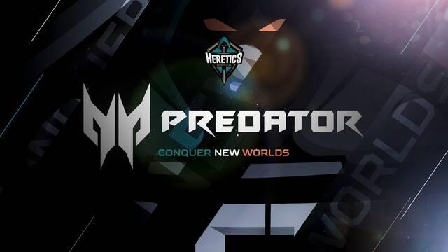 Team Heretics cierra un acuerdo de patrocinio con Predator