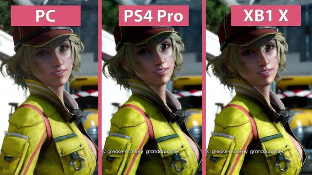Comparan los gráficos de FFXV en PC, PS4 Pro y Xbox One X