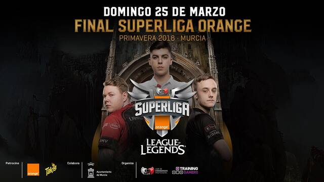 La final de la Superliga Orange de League of Legends no será en Gamergy