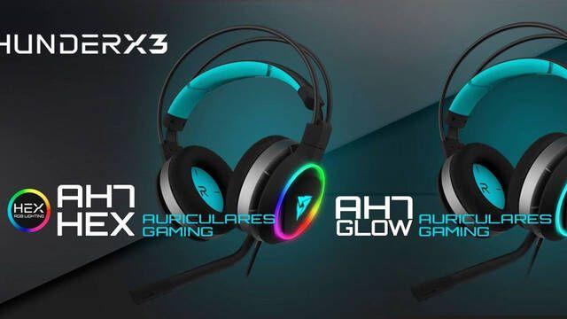 AH7, los nuevos auriculares 7.1 de ThunderX3