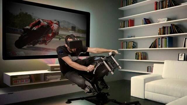 LeanGP, el primer simulador de moto plegable para PC, PS4 y Xbox One