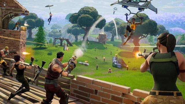 Los deportistas  imitan las celebraciones de Fortnite Battle Royale