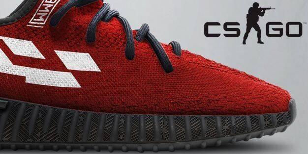 Un fan crea diseños de zapatillas basados en skins de CS:GO