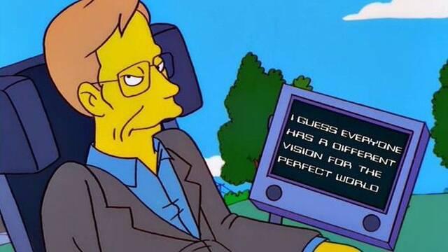 Recordando a Stephen Hawking en 'Los Simpsons' o 'The Big Bang Theory'