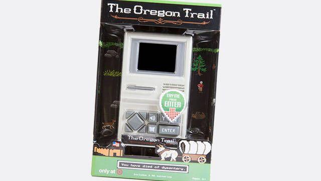 Crean una consola portátil retro para un sólo juego: The Oregon Trail