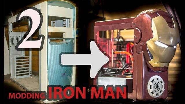 Transforma una vieja caja en un PC de Iron Man