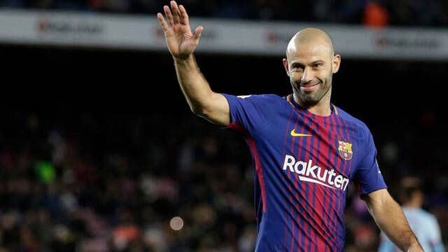 Mascherano, ex del Barça, se une a una agencia de esports en Latinoamérica