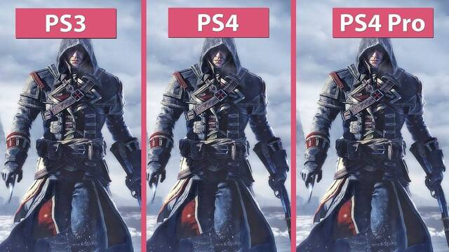 Así se ve el Assassin's Creed Rogue original y su remaster en PS4 Pro