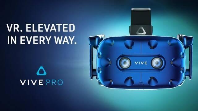 HTC Vive anuncia que las Vive Pro HMD costarán 799 dólares