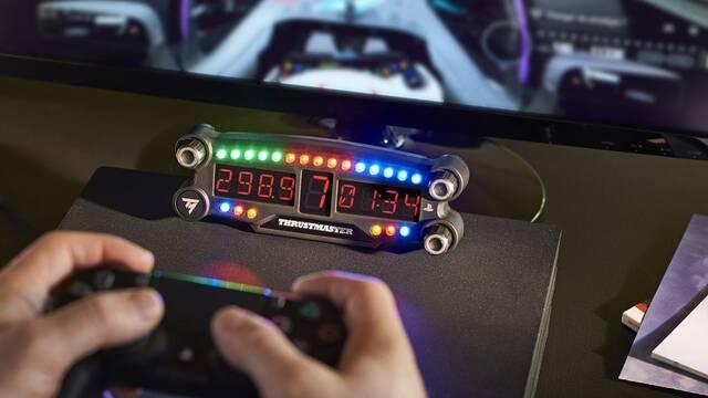 Thrustmaster presenta un panel LED para los amantes de la conducción en PS4