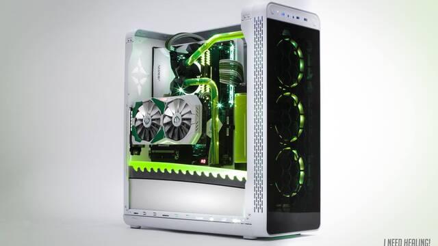 Un fan crea un PC homenaje a Genji de Overwatch
