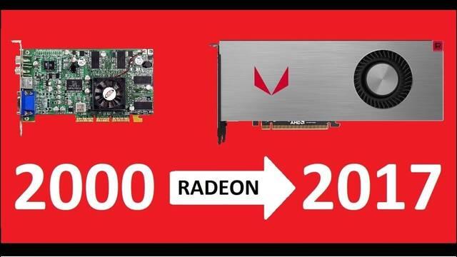 Así ha sido la evolución gráfica de AMD Radeon en 17 años