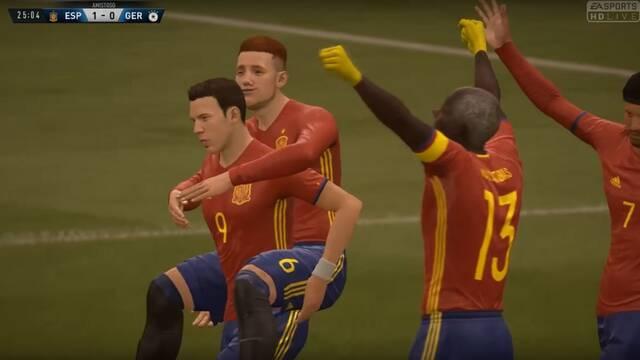 La Selección Española de FIFA 18 Clubes Pro se juega la Copa Confederaciones