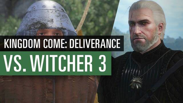 Comparativa gráfica: The Witcher 3 Vs. Kingdom Come Deliverance
