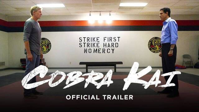 La nostalgia de Karate Kid llega con el primer tráiler de Cobra Kai