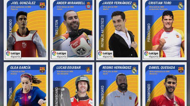 LaLiga presenta un torneo de FIFA 18 con 8 deportistas de élite de España