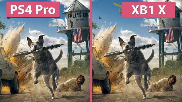 Comparan Far Cry 5 en PS4, PS4 Pro, Xbox One y Xbox One X