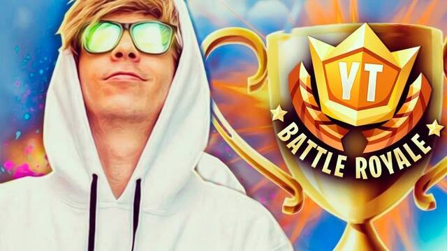 Los mejores momentos de la batalla entre youtubers de Fortnite Battle Royale