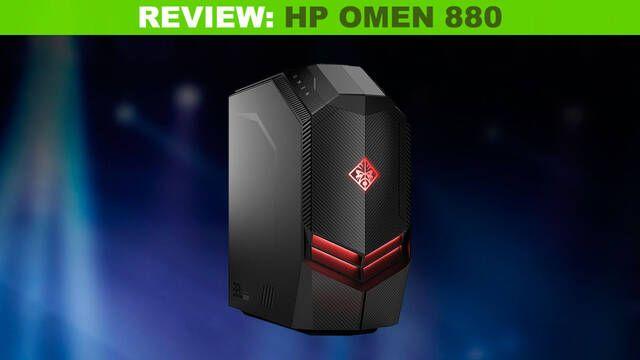 Análisis HP Omen 880-162ng: Una bestia para jugar