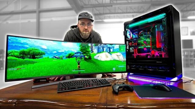Crean un PC de 20.000 dólares para jugar a Fortnite Battle Royale
