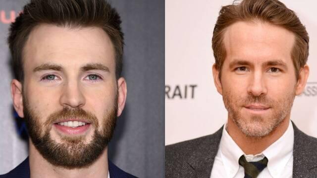 Chris Evans y Ryan Reynolds acuden a reconfortar a un paciente terminal