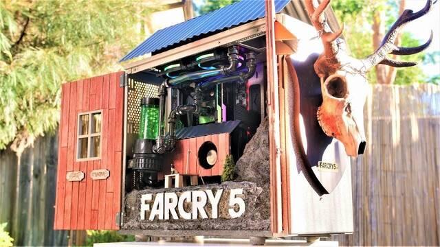 Así es el ordenador para gamers inspirado en Far Cry 5