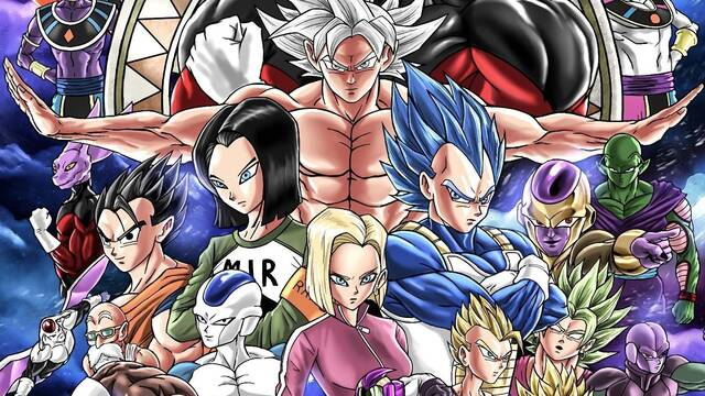 Diseñan un póster del Torneo de Poder de Dragon Ball a lo Infinity War
