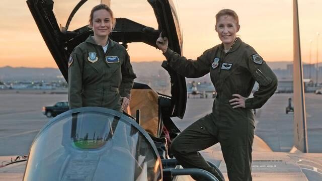 Marvel distribuye la primera foto de Brie Larson como Captain Marvel