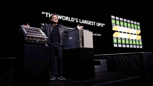 NVIDIA DGX-2, el PC para la Inteligencia Artificial de 399.000 dólares