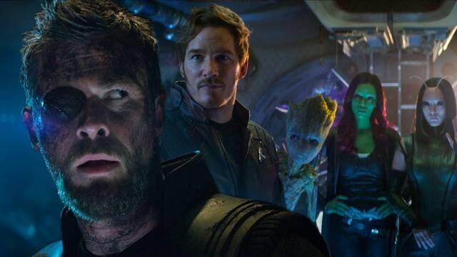 Desvelan el encuentro de Thor y los Guardianes en Vengadores: Infinity War