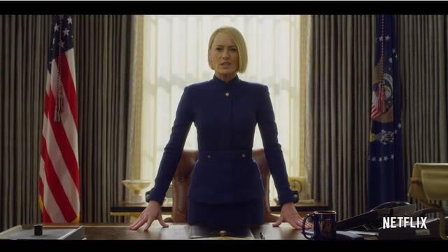 Robin Wright revoluciona la Casa Blanca en el nuevo teaser de  'House of Cards'