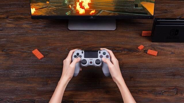 Ya puedes usar el mando de PS4 en Nintendo Switch gracias a un adaptador