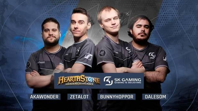 El español Dalesom se une al equipo de Hearthstone de SK Gaming