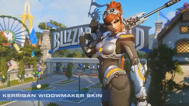 Widowmaker tendrá una nueva skin por el 20º aniversario de Starcraft