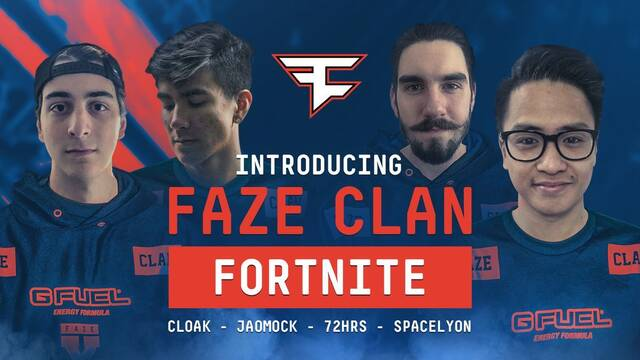 FaZe ficha a un equipo de Fortnite Battle Royale