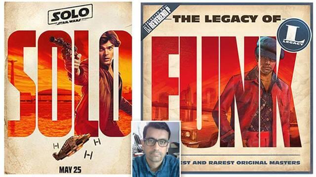 Denuncia que Disney copió las portadas de sus discos para 'Han Solo'