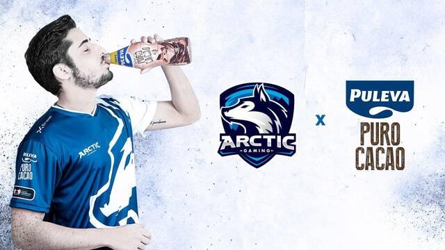 Puleva entra en los esports patrocinando a Arctic Gaming