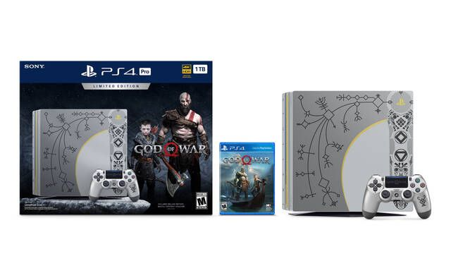 Así es la PS4 Pro Edición Especial de God of War