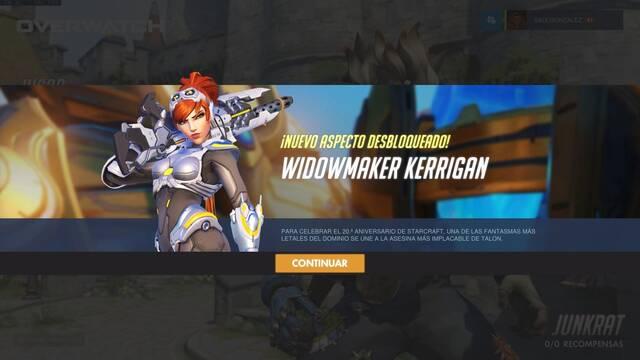Ya puedes conseguir gratis la skin de Starcraft para Widowmaker