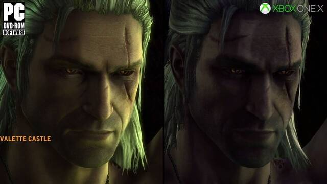 Comparativa gráfica: The Witcher 2 en PC, Xbox One X y Xbox 360