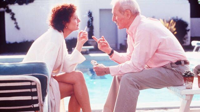 Susan Sarandon: Paul Newman le cedió parte de su salario para cobrar igual